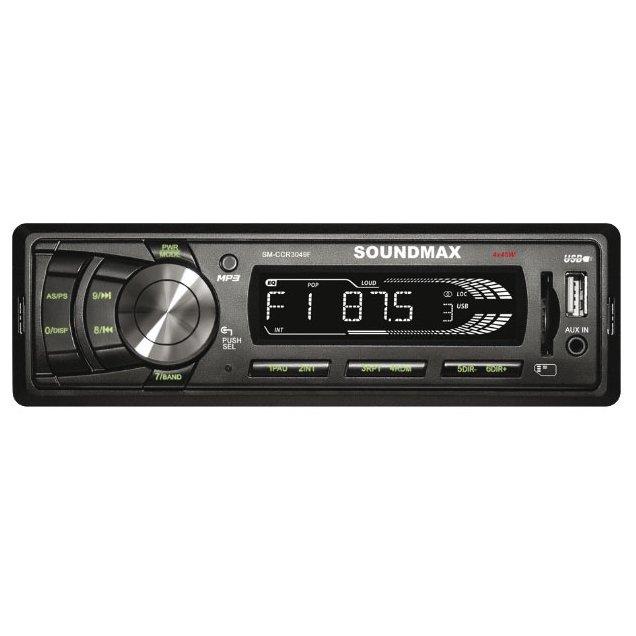 Новая автомагнитола Soundmax