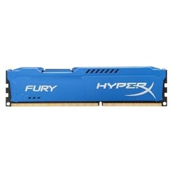 Память Kingston 8GB 1333MHz DDR3 CL10 DIMM HyperX FURY Blue Series (HX313C9F/8)