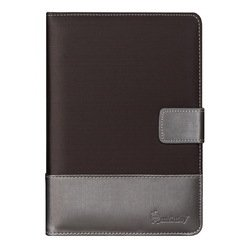 """Универсальный чехол-книжка для планшетов 7"""" (SmartBuy Jacquard) (серый)"""