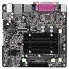ASRock Q1900B-ITX RTL - Материнская платаМатеринские платы<br>Форм-фактор mini-ITX, чипсет Intel Celeron J1900, установлен процессор Intel Celeron J1900, до 2 планок памяти DDR3 SO-DIMM частотой 1066 - 1333 МГц, встроенный видеоадаптер, слоты расширения: 1xPCI-E x1, разъемов SATA 3Gb/s: 2, на задней панели: 4xUSB, из них USB 3.0, COM, LPT, D-Sub, HDMI, Ethernet, PS/2 (клавиатура), PS/2 (мышь).<br>