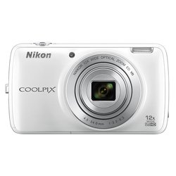 nikon coolpix s810c +16gb (белый) :::