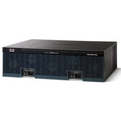 Маршрутизатор Cisco 3945E Voice Bundle, PVDM3-64, UC License PAK (CISCO3945E-V/K9)