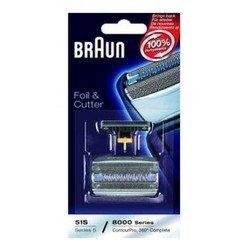 Сетка + режущий блок для Braun 5-серии, 8000-серии, ContourPro 360 Comlete, Activator (51S 81394071)