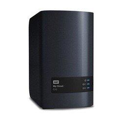 Система NAS WD My Cloud EX2 (WDBWAK0000NCH-EEUE) (черный)