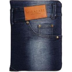 """Универсальный чехол-книжка для планшетов 8"""" (Miracase MS-8013) (джинс)"""