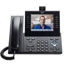 IP-телефон Cisco_RUS Cisco UC Phone 9971 с камерой (CP-9971-CR-CAM-K9=) (черный)