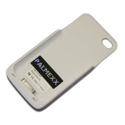Чехол-аккумулятор для Apple iPhone 4, 4S (Palmexx) (белый)