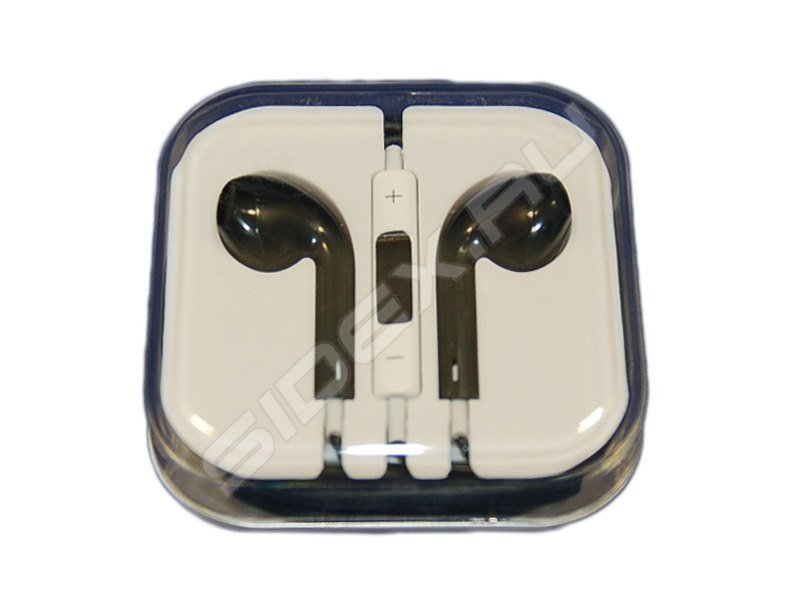 Наушники для Apple iPhone 4, 5 (Palmexx PX/EPH IPH4,5 BL) (черный) - Наушники