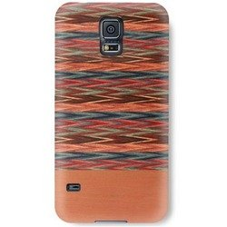 чехол-накладка для samsung galaxy s5 (man&wood m3490b) (browny check)