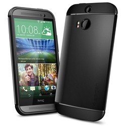 ��������� �����-�������� ��� htc one m8 spigen slim armor series (sgp10813) (������)