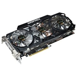 gigabyte geforce gtx 780 863mhz pci-e 3.0 3072mb 6008mhz 384 bit 2xdvi hdmi hdcp windforce rev. 2.0