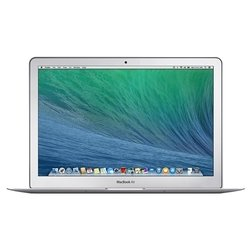 "apple macbook air 13 early 2014 md760b (core i5 1400 mhz/13.3""/1440x900/4.0gb/128gb ssd/dvd нет/wi-fi/bluetooth/macos x) (серебристый) :"