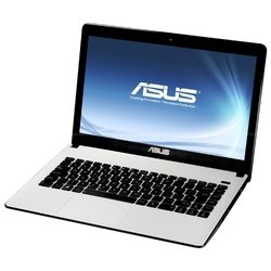 "asus x401a (celeron b830 1800 mhz/14""/1366x768/2048mb/320gb/dvd нет/intel hd graphics 2000/wi-fi/bluetooth/dos)"
