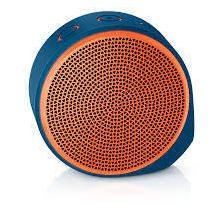Logitech X100 Mobile Wireless Speaker (оранжевые)