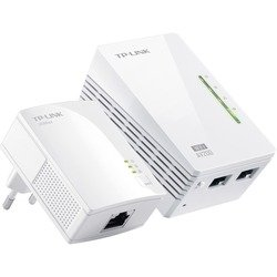 Адаптер TP-LINK Powerline TL-WPA2220KIT (белый)
