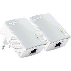 Комплект адаптеров TP-LINK Powerline TL-PA4010KIT (белый)