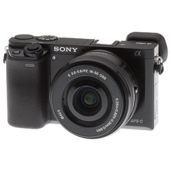 "Sony Alpha A6000 Kit (black 24Mpix 16-50 3"" SDXC SDHC комплект с объективом)"