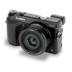 "panasonic lumix dmc-gx7 kit (black 16,1mpix 20mm 3"" 1080 sdhc li-ion)"