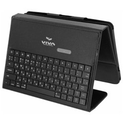 Vivacase VAP-AK00S03 Black Bluetooth (черный) + кожаный чехол