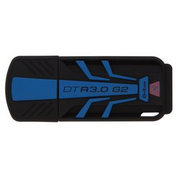 USB-���� ���������� Kingston DataTraveler G2 64GB (DTR30G2/64GB) (�����/������)