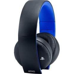 Беспроводная стереогарнитура Sony 2.0  для PlayStation4 и PlayStation3 (CECHYA-0083) (черный/синий)
