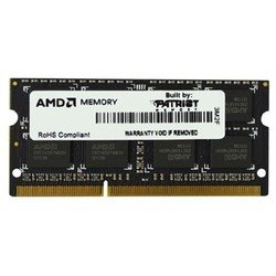 память so-ddr3 2048mb 1333mhz amd (ae32g1339s1-u) rtl