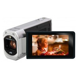 "videocamera jvc gz-vx715 silver 1cmos 10x is opt 3"" touch lcd 1080p 24mb sdhcwifi"