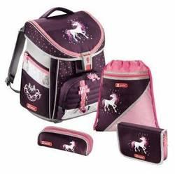 Ранец школьный с аксессуарами Step By Step (Comfort Unicorn 00129091) (фиолетовый, розовый)