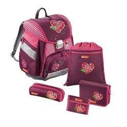 Ранец школьный с аксессуарами Step By Step (Tweedy Hearts 00129086) (розовый)