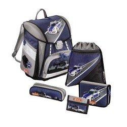 Ранец школьный с аксессуарами Step By Step (Touch Police 00129111) (фиолетовый, серый)