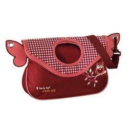 Сумка детская Step By Step (Alpbag Owl 00129118) (красный, розовый)