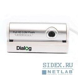 Dialog WC-33U (белый-серебристый)
