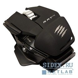 ���� mad catz r.a.t.m mobile gaming mouse - matt black ������������ �������� (mcb437100002/04/1)