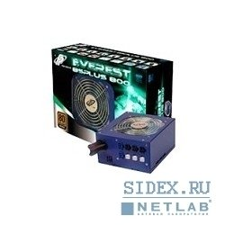 "б/питания 800w atx ""fsp"" everest 85+800 rtl bronze 12cm v2.2 active pfc cable management"