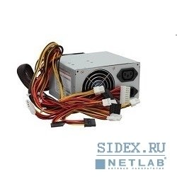 ��������� ���� ������� gembird 500w [ccc-psu6(x)] rtl atx 2.2,  ce,  pfc,  low noise,  dual fan, 20+4+4+6 pin, 4 sata, power cord