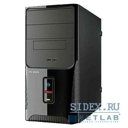 ��������� ������ mini tower inwin enr-029bl black 400w matx [6084968]
