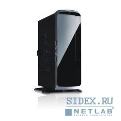 корпус slimcase inwin bq-660bl black 80w ext. usb/au mini-itx [6041660] (внешний модуль)