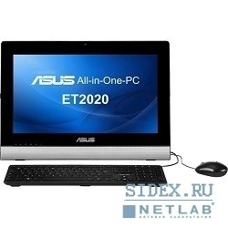 "компьютер asus eeetop et2020iuki-b034k intel pentium g2030t/ intel b75/ intel® hd graphics 2500/2gb/500gb/dvd/gbl/wlan/card reader/vga-out+hdmi-out/19.5"" 16:9 led/none touch/1mp cam/wifi/2x3w speaker/4xusb3.0/2"