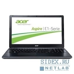 "acer aspire e1-532-35584g50mnii pentium dual core 3558u/4gb/500gb/dvdrw/int/15.6""/hd/1366x768/win 8 single language 64/grey/6c/wifi/cam [nx.mfyer.004]"