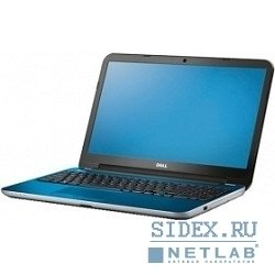 "ноутбук dell inspiron 5537 (5537-7291) 15.6"" hd i5-4200u/4gb/750gb/hd8670m 2gb/dvdrw/wifi/bt/w8.1 blue"