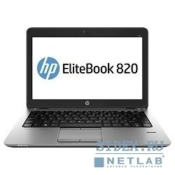 "f1n46ea elitebook 820 12.5""(1366x768 (матовый))/intel core i7 4500u(1.8ghz)/8192mb/180ssdgb/nodvd/int:intel hd4400/cam/bt/wifi/3g/war 3y/1.33kg/silver/black metal/w7pro + w8pro"