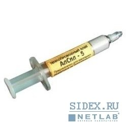 Термоклей в шприце АлСил-5 (TERMO5) (3гр.)