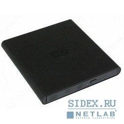 внешние приводы 3q freeform dvd±rw slim external (3qodd-t102h-tb08),  usb 2.0,  black (retail)