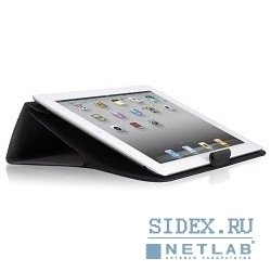 папка-подставка luxa2 zirka case for ipad/ipad2/ipad3 black (lha0047-a)