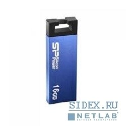 носитель информации usb 2.0 silicon power usb drive 16gb,  touch 835 [sp016gbuf2835v2b],  blue