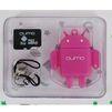 Qumo microSDHC Class 10 8GB + Fundroid USB Card Reader (розовый) - Карты памятиКарты памяти<br>Карта памяти microSDHC, Class 10, объем 8 Гб. В комплекте USB-картридер, USB 2.0.<br>