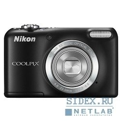 цифровая камера nikon coolpix l27 black 16.1mp, opt zoom 5x, 2.7""