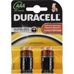 Батарейки АAA (Duracell LR 03-4BL) (4 шт.)
