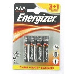 ��������� aaa (energizer lr03-3+1bl) (4 ��.)