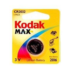 Литиевая батарейка (Kodak CR2032-1BL) (1 шт.)